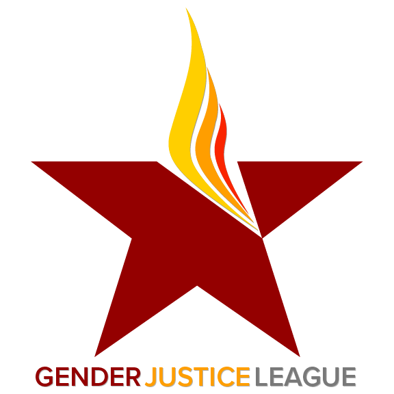 Gender Justice League banner